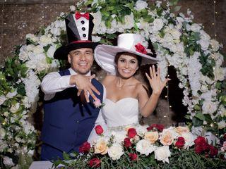 La boda de Abigail y Alfredo