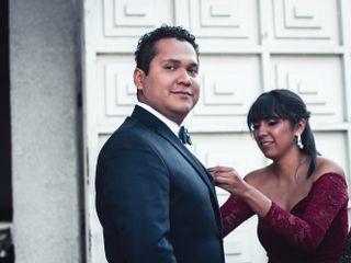 La boda de Santiago y Estefania 1