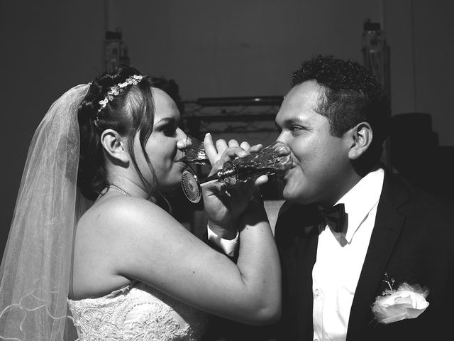 La boda de Santiago y Estefania