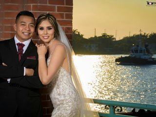 La boda de Georgina y Adrian