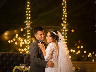 La boda de Alejandra y Juan Francisco