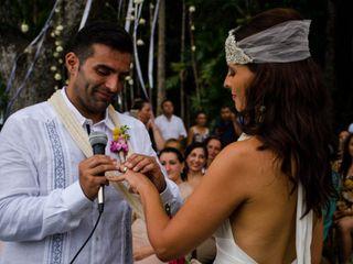 La boda de Alejandra y Davide
