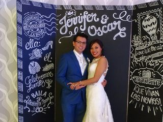 La boda de Jennifer y Óscar