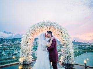 La boda de Andy y Veñath
