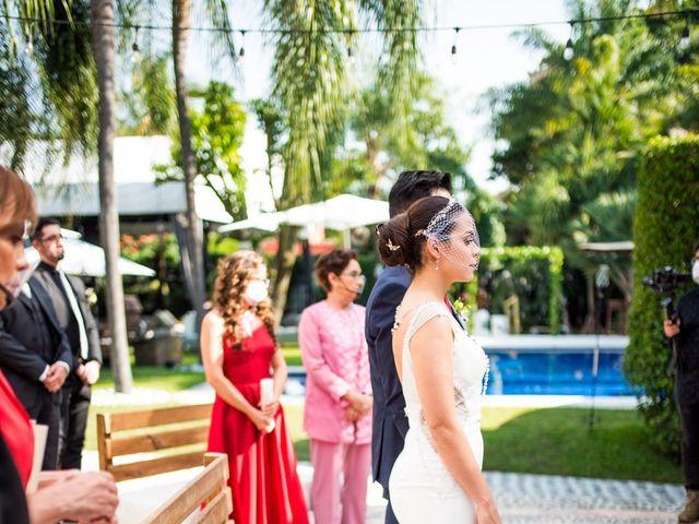La boda de Eduardo y Karla en Jiutepec, Morelos 35