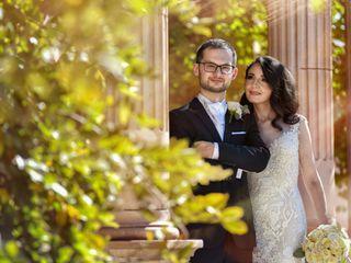 La boda de Thesie y Radoslav