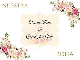 La boda de Christopher  y Diana  1
