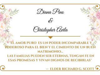La boda de Christopher  y Diana  2