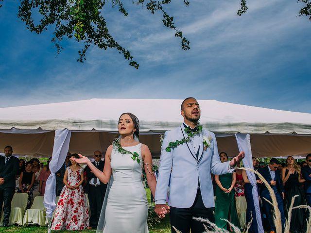 La boda de Estefanía y Jonathan