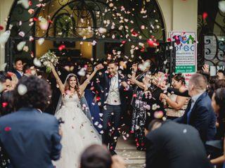La boda de Mariana y Luca