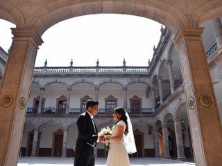 La boda de Rocío  y Asaf