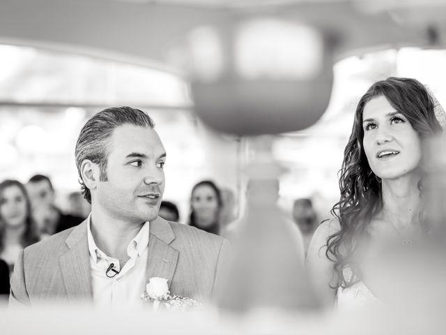 La boda de Giorgio y Alexandra