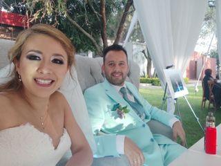 La boda de Whilliams y Yanit