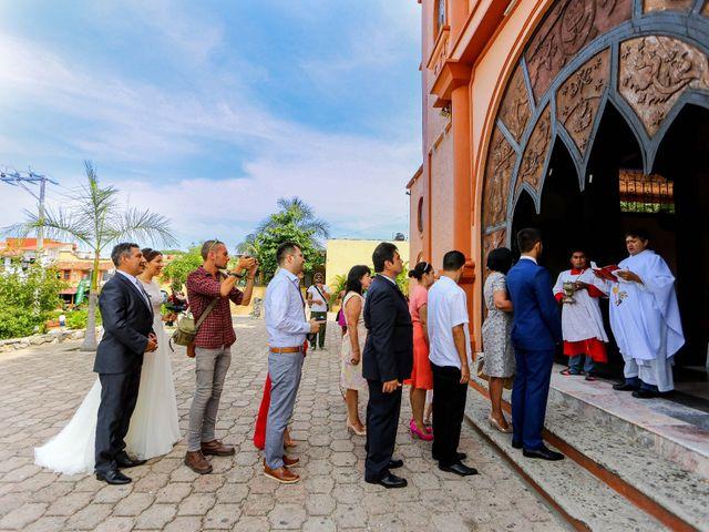 La boda de Ernesto y Alisa en Huatulco, Oaxaca 21