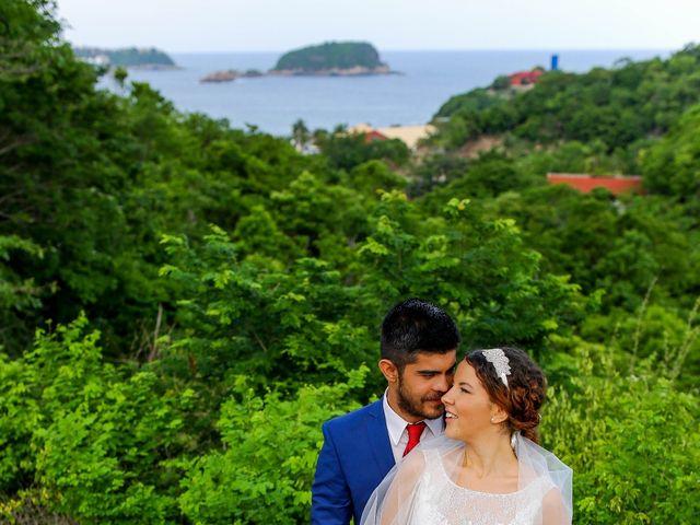 La boda de Ernesto y Alisa en Huatulco, Oaxaca 18