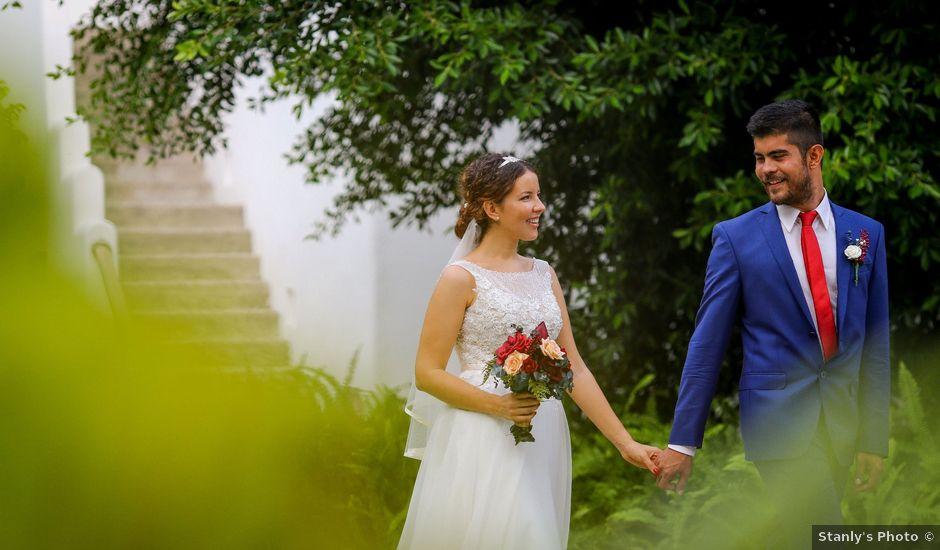 La boda de Ernesto y Alisa en Huatulco, Oaxaca
