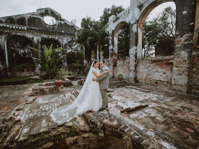 La boda de Abraham y Mariana