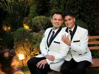 La boda de Geovani y Antonio