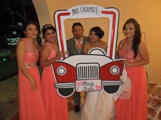 La boda de Andrea y Santiago 2