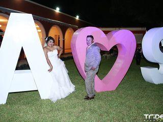 La boda de Andrea y Santiago