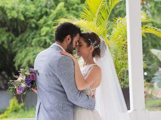 La boda de Katherine y Juan José