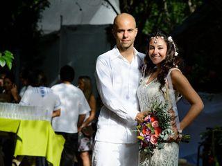 La boda de Marcela y Christopher