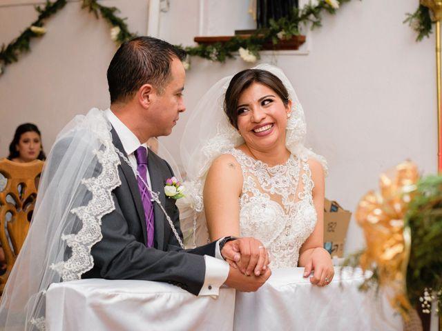 La boda de Oscar y Fernanda en Pachuca, Hidalgo 18