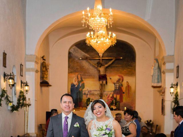 La boda de Oscar y Fernanda en Pachuca, Hidalgo 20