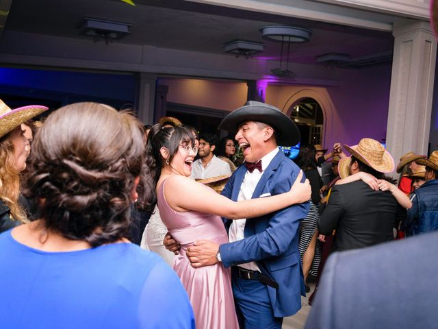 La boda de Oscar y Fernanda en Pachuca, Hidalgo 22