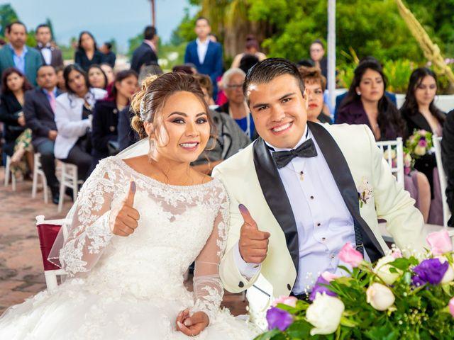 La boda de Ariadna y Uriel