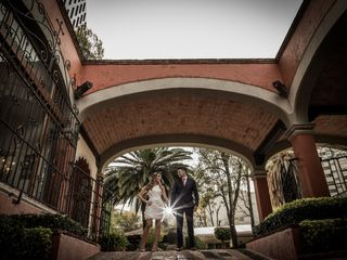 La boda de Andrea y Fer