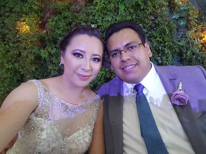La boda de Nallely  y Efraín