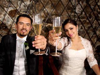 La boda de Aline y Eric