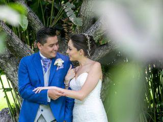 La boda de Geraldine  y Omar