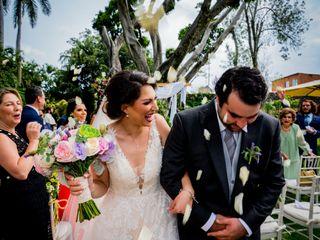 La boda de Yanin y Javier