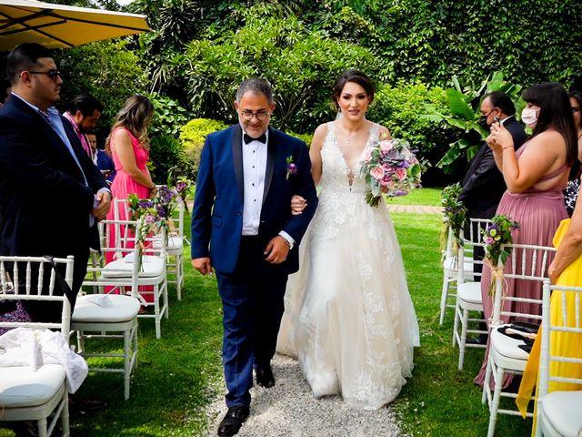 La boda de Javier y Yanin en Cuernavaca, Morelos 10