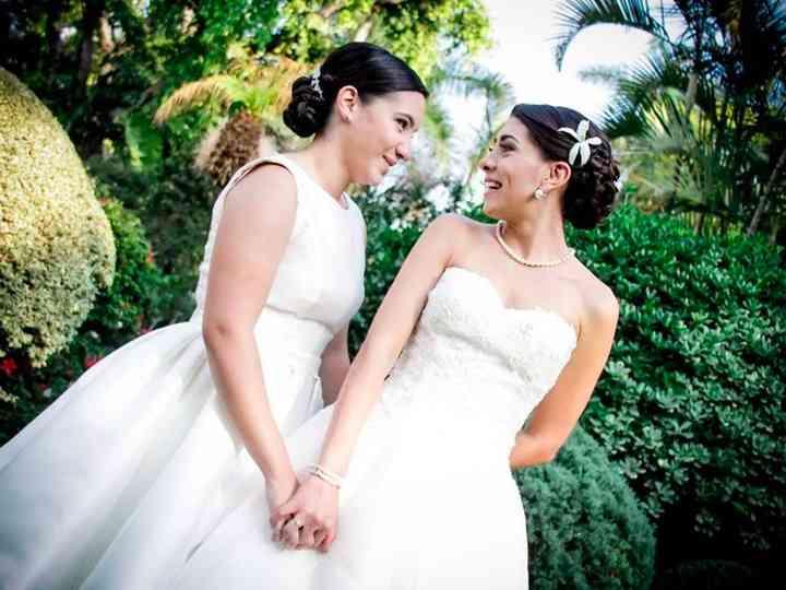 La boda de Carmen y Claudia