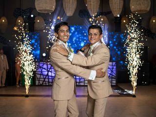 La boda de Rodrigo y Gael