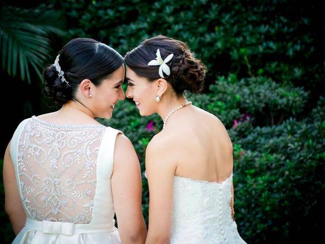La boda de Claudia y Carmen en Cuernavaca, Morelos 36
