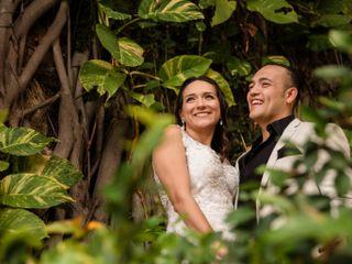La boda de Mariana  y Iván  1