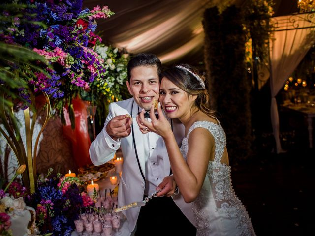 La boda de Anahí y Alan