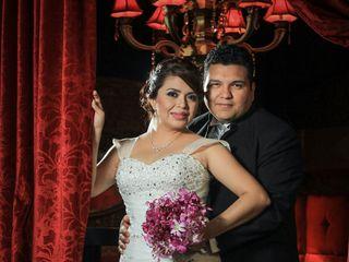 La boda de Rossio  y Julio