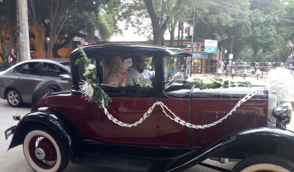 La boda de Ernesto y Brenda en Venustiano Carranza, Ciudad de México