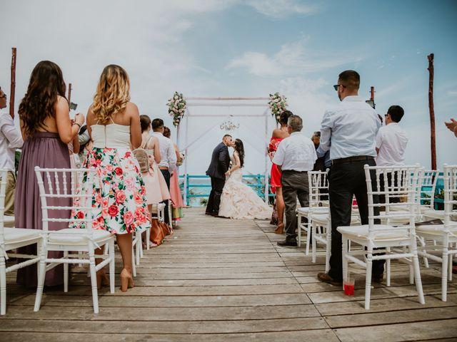 La boda de Mario y Marilyn en Cancún, Quintana Roo 24