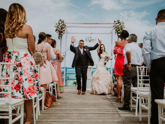 La boda de Mario y Marilyn en Cancún, Quintana Roo 25
