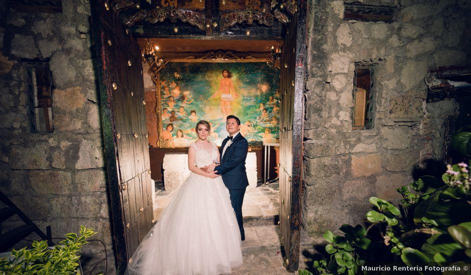 La boda de Mauricio y Anaid en Naucalpan, Estado México