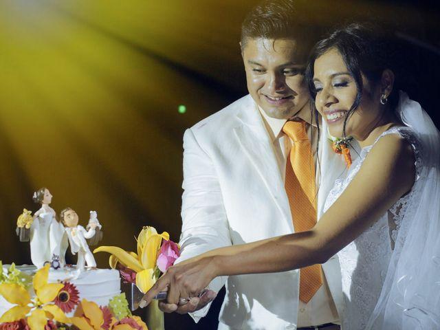 La boda de Flor y Javier