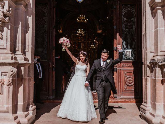 La boda de Arturo y Karla en Aguascalientes, Aguascalientes 2