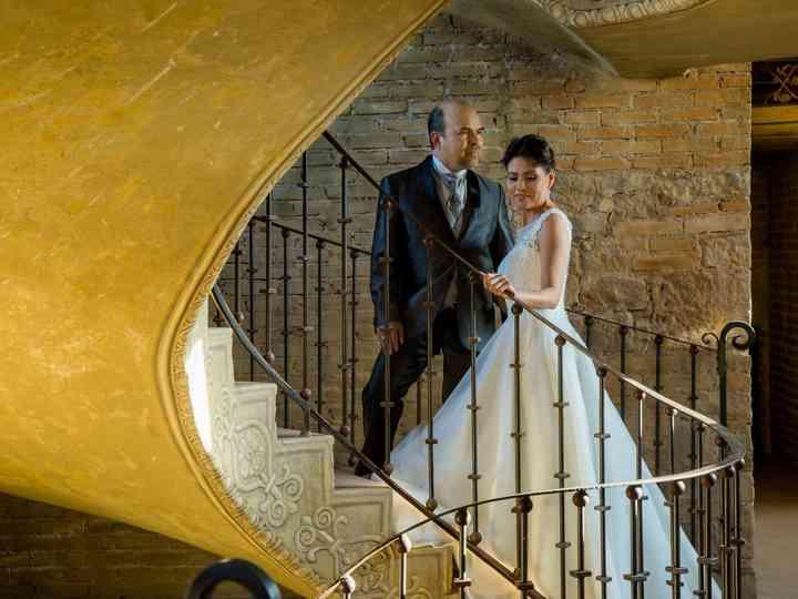 La boda de Rosario y José Luis