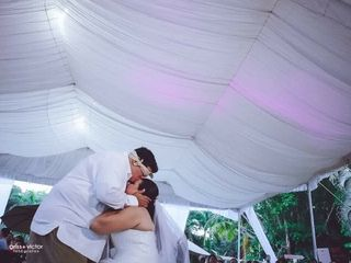 La boda de Krystal  y Oscar  1